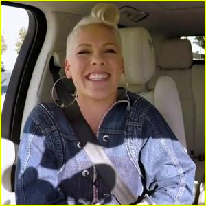 Pink Explains Why Bon Jovi Sent Her His Pants During 'Carpool Karaoke' - Watch Now!