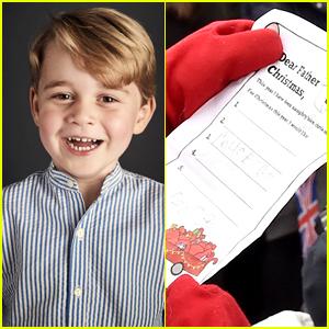 Prince George's Handwritten Christmas List Revealed!