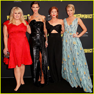 Rebel Wilson, Ruby Rose, Brittany Snow & Anna Camp Premiere 'Pitch Perfect 3' in Australia!