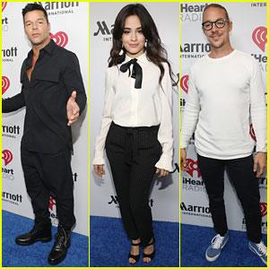 Ricky Martin, Camila Cabello, & Diplo Hit Up iHeartRadio Fiesta Latino 2017