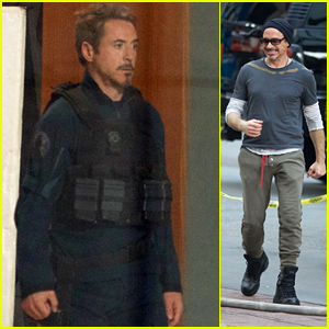 Robert Downey Jr. Spotted Filming 'Avengers 4' for the First Time - Iron Man Is Alive!
