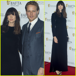 Sam Heughan & Caitriona Balfe Bring 'Outlander' to British Academy Scotland Awards