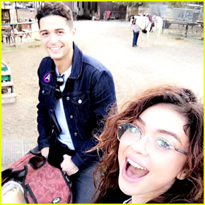 Sarah Hyland Shares Photos from Horseback Riding Date with Wells Adams!