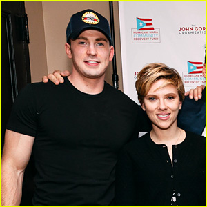 Scarlett Johansson's 'Avengers' Co-Stars Join Her for 'Our Town' Benefit Reading