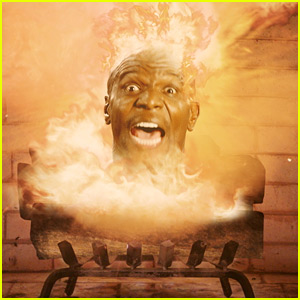 Terry Crews Is an Exploding Yule Log for 59 Minutes in Old Spice Video!