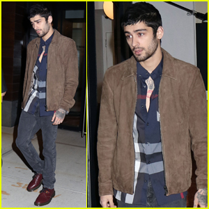 Zayn Malik Steps Out After Celebrating Two Year Anniversary With Gigi Hadid!