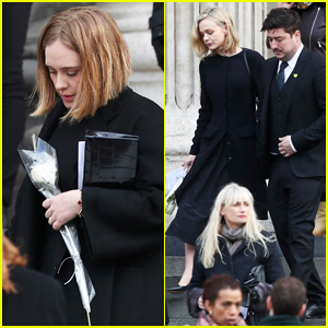 Adele & Carey Mulligan Pay Tribute to Grenfell Tower Fire Victims at Memorial Service