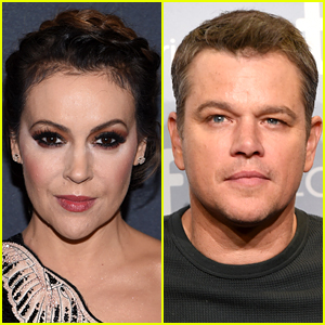 Alyssa Milano Writes Open Letter to Matt Damon About Sexual Misconduct