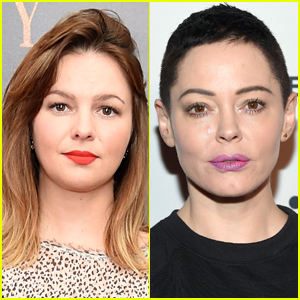 Amber Tamblyn Responds to Rose McGowan's Criticism of Black Dress Protest