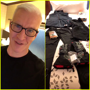 Anderson Cooper Reveals His Heated Clothes for New Year's Eve!