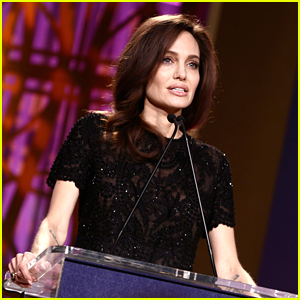 Watch Angelina Jolie's Powerful Speech at THR's Women in Entertainment Event (Video)