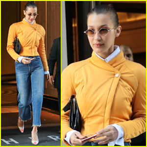 Bella Hadid Steps Out for Lunch in New York City