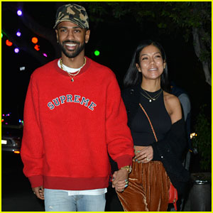 Big Sean & Girlfriend Jhene Aiko Step Out for Sushi Dinner Date