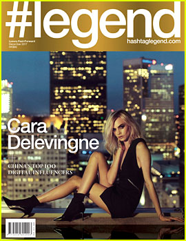Cara Delevingne Has Legs For Days on #legends December Cover