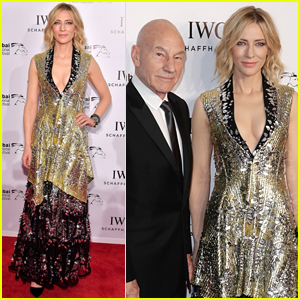 Cate Blanchett Shines at the IWC Filmmakers Awards in Dubai