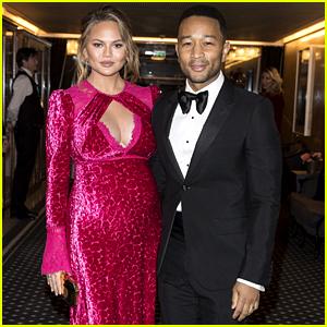 John Legend & Pregnant Chrissy Teigen Get Glam for Nobel Peace Prize Banquet 2017!