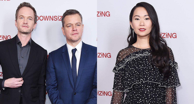Matt Damon Neil Patrick Harris  Hong Chau Team Up for 'Downsizing' Screening