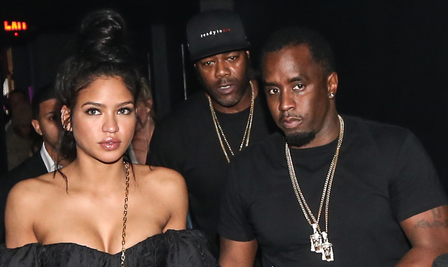 Sean 'Diddy' Combs & Girlfriend Cassie Hold Hands at a ...
