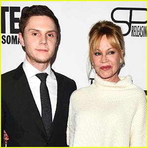 Evan Peters & Melanie Griffith Premiere 'Pirates of Somalia' in LA