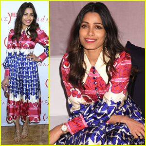 Freida Pinto Teams Up with (RED) In Support of Fight Against AIDS!