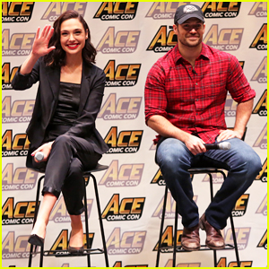 Gal Gadot, Henry Cavill & 'Justice League' Cast Close Out Ace Comic Con in NY!