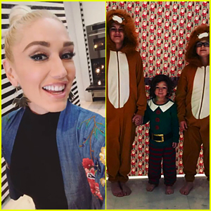 Gwen Stefani Gave Her Kids a Cool Surprise on Christmas!