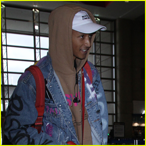 Jaden Smith Jets Out of LAX Airport Ahead of the Holidays