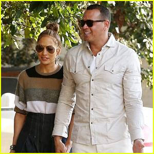 Jennifer Lopez & Alex Rodriguez Spend a Nice Afternoon Together