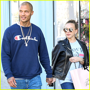 Jeremy Meeks & Chloe Green Hold Hands on Shopping Spree