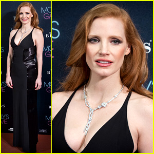 Jessica Chastain Stuns at 'Molly's Game' Madrid Premiere