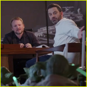 Jimmy Kimmel Pitches 'Star Wars' Ideas to Director Rian Johnson - Watch Now!