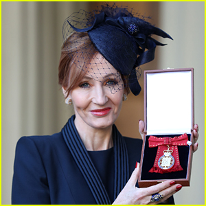 J.K. Rowling Receives Companion of Honor From Prince William!