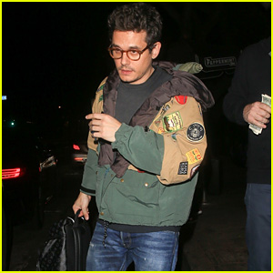 John Mayer Attends Dave Chappelle's Gig at The Peppermint Club!