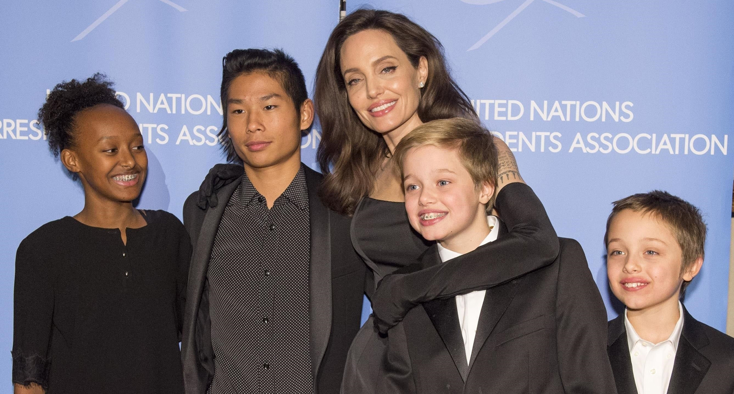 Here's Why Two of Angelina Jolie's Kids Missed Their ...