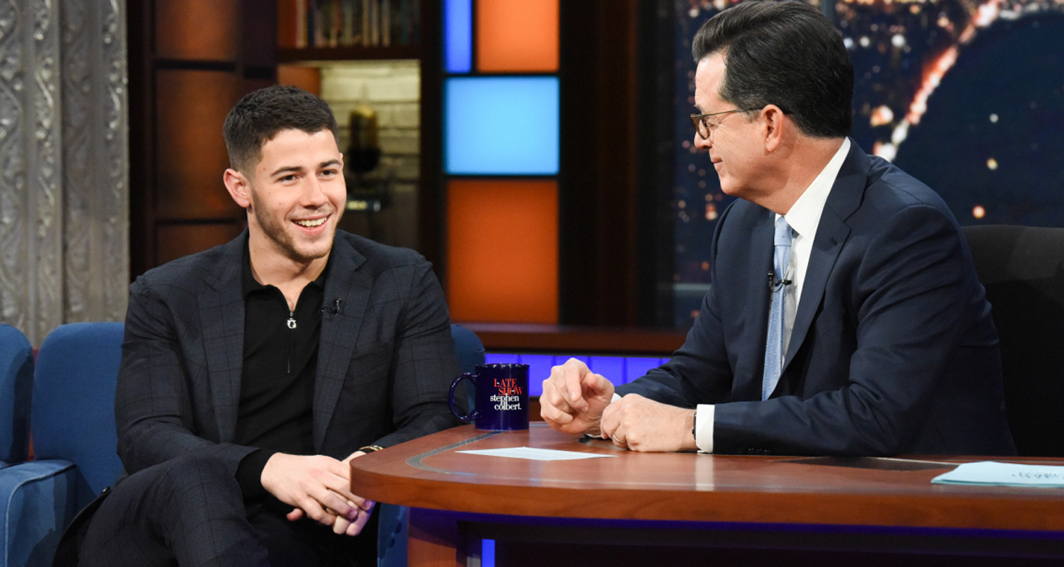 Nick Jonas Debuts ?Jumanji? Theme Song & Takes Part in ?Rescue Dog Rescue? Skit on ?Late Show?!