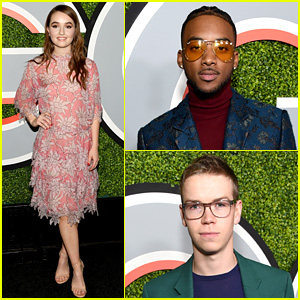 Kaitlyn Dever, Algee Smith, & 'Detroit' Stars Reunite at GQ Men of the Year Party
