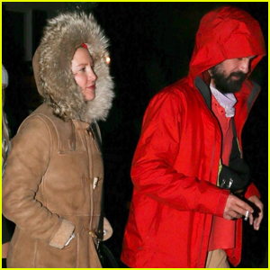 Kate Hudson Bundles Up For Dinner Date With Danny Fujikawa