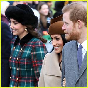 Kate Middleton Walks Alongside Meghan Markle on Christmas Morning!