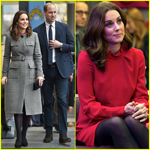 Kate Middleton & Prince William Make Appearances in Manchester for Mental Health!