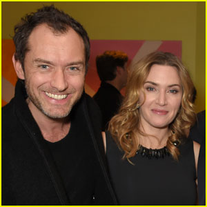 Kate Winslet & Jude Law Have 'Holiday' Reunion - See Pics!