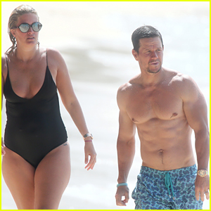 Mark Wahlberg Joins Wife Rhea Durham for Another Beach Day!