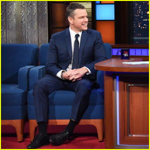 Matt Damon Explains Why Kids Haven't Seen 'Good Will Hunting' Yet on 'The Late Show'!