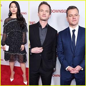 Matt Damon, Neil Patrick Harris, & Hong Chau Team Up for 'Downsizing' Screening