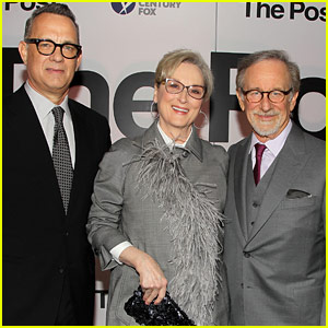 Meryl Streep & Tom Hanks Lead Star-Studded 'The Post' Premiere in D.C.