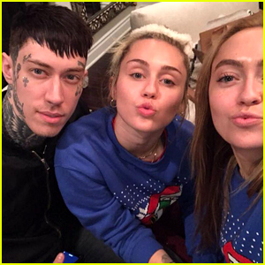 Miley Cyrus Is Celebrating Christmas with Her Siblings & Pets!