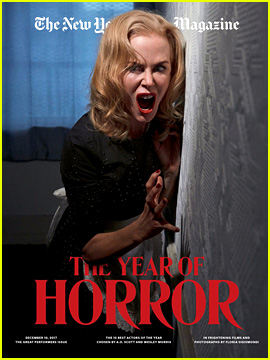 Nicole Kidman Is a Scream Queen on the Cover of 'New York Times Magazine'!