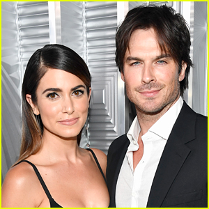 Ian Somerhalder Kisses Nikki Reed, Shares Christmas Message with Fans