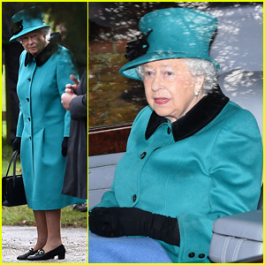 Queen Elizabeth Attends New Year's Eve Church Services