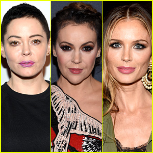 Rose McGowan Slams Alyssa Milano for Supporting Harvey Weinstein's Wife