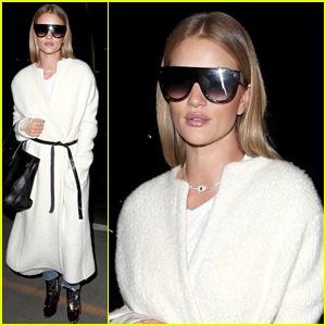 Rosie Huntington-Whiteley's Airport Sunglasses Get Vogue's Endorsement